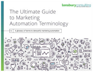 Cover of Guide: The Ultimate Guide to Marketing Automation Terminology